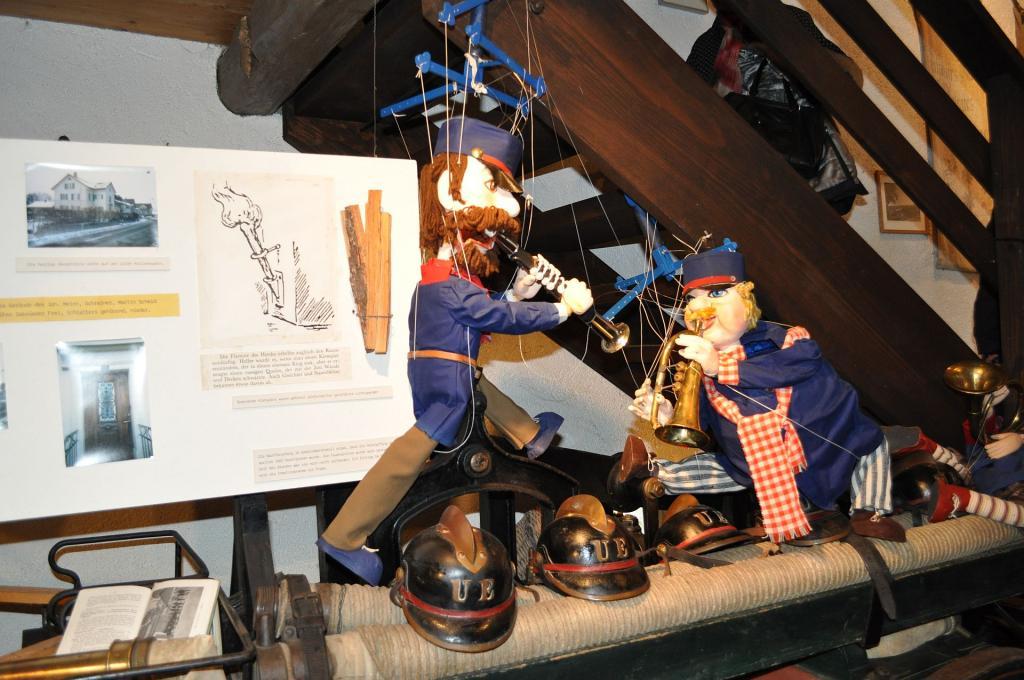 Marionette Feuerwehr