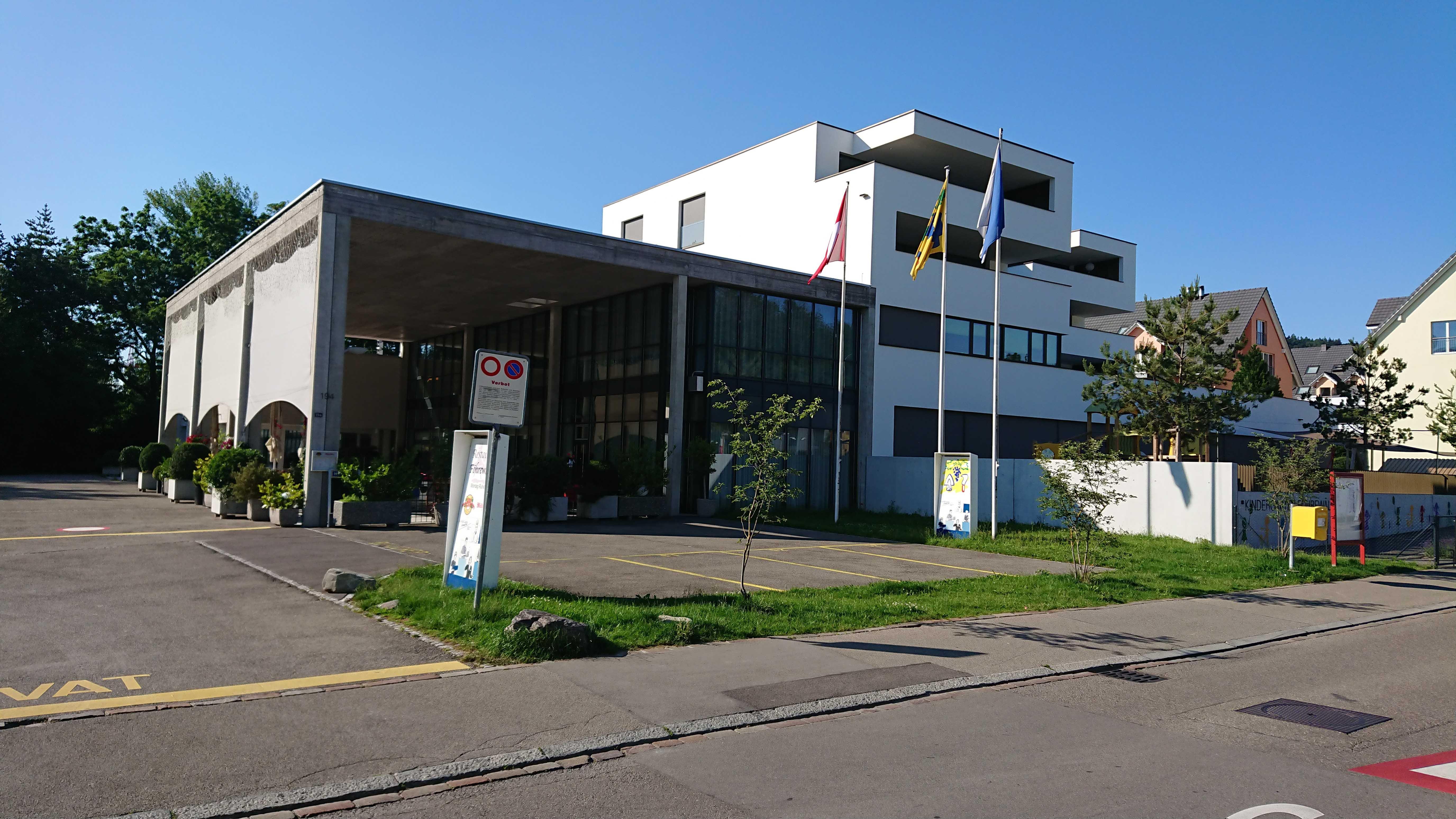 Quartierzentrum Fahrweid mit Kindergarten